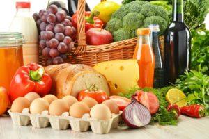 Разнообразные полезные продукты