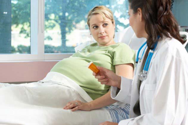 поддержка беременности