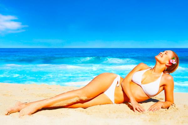 Солнечные ванны для повышения концентрации витамина Д