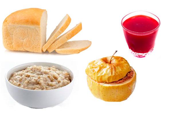 Правильное питание для устранения поноса