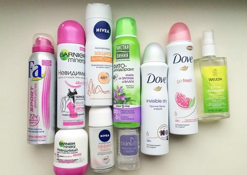 Выбираем дезодорант для девочек подростков
