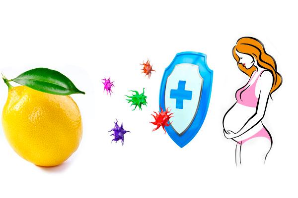 Укрепление иммунитета лимоном при беременности
