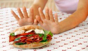 Потеря аппетита и диета