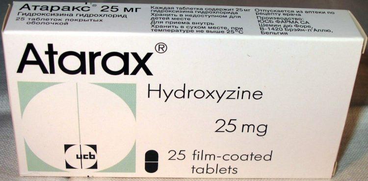 Атаракс препарат анксиолитик