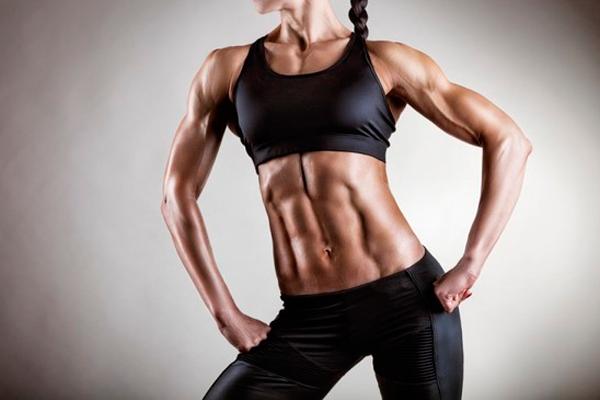 Формирование у женщин мышц под воздействием тестостерона