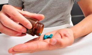 Употребление медикаментозных средств