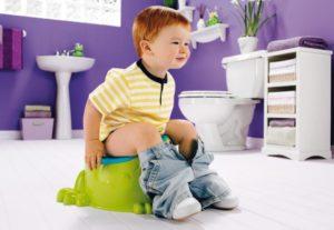 у ребенка понос зеленый