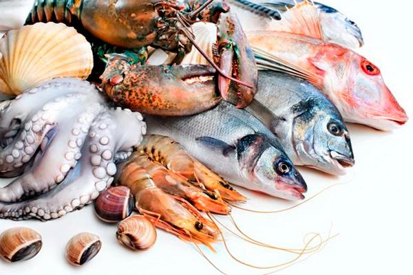 Рыба и морепродукты для нормализации тестостерона в крови
