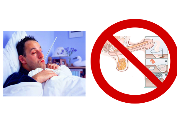 Перенос спермограммы в случае простуды мужчины