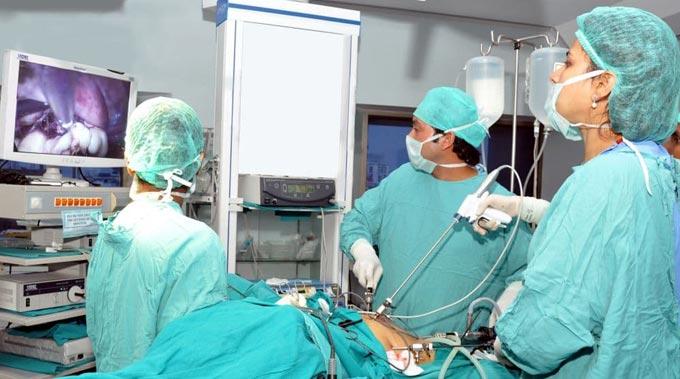 операция лапароскопическим методом