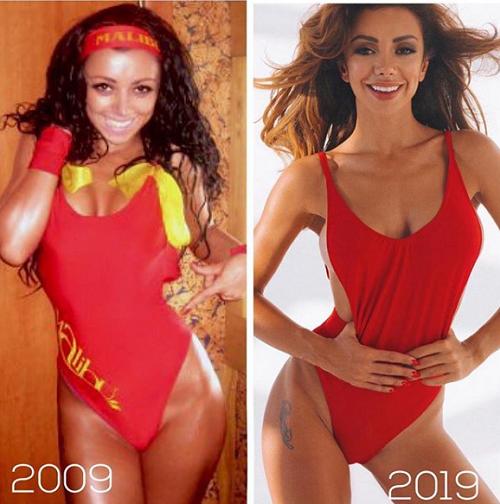 10 лет спустя: как выглядели знаменитые фитоняшки в начале своего пути?