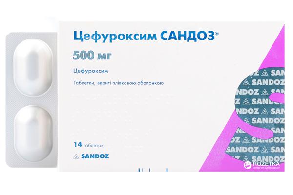 Цефуроксим для снятия воспаления после операции по внематочной беременности
