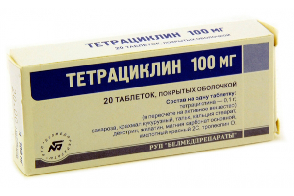 Тетрациклин для лечения уреаплазмы