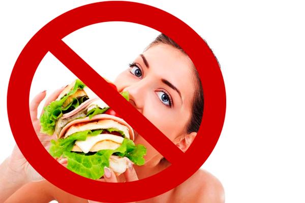 Запрет на переедание на последних сроках беременности