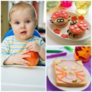 Режим питания и рацион ребенка