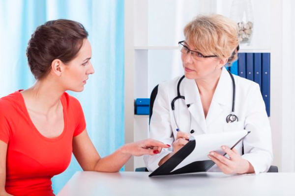 Посещение врача при планировании беременности