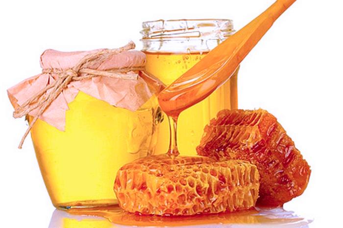 Мед и соты - одна из составляющих продуктов для сперматогинеза