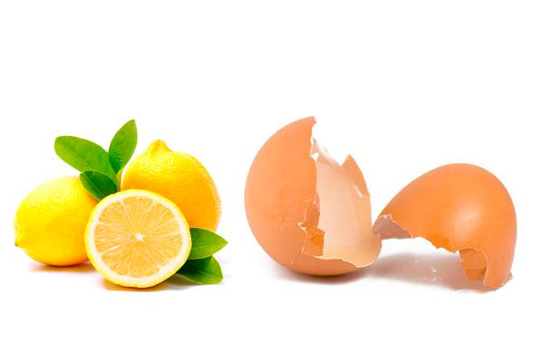 Компоненты для приготовления настойки из лимона и яиц