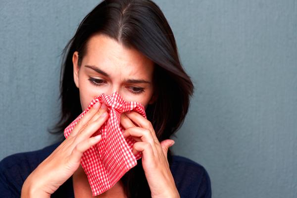 Заложенность носа при простуде