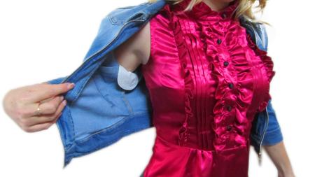 Как правильно одевать прокладки от пота