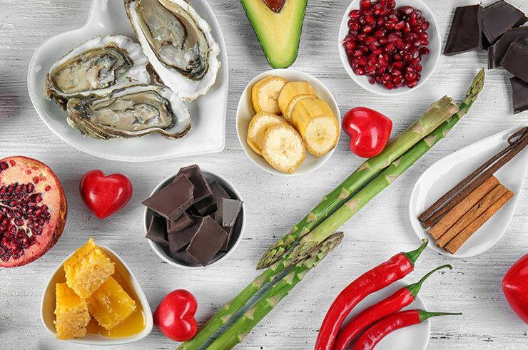 Продукты питания для повышения уровня цинка и тестостерона