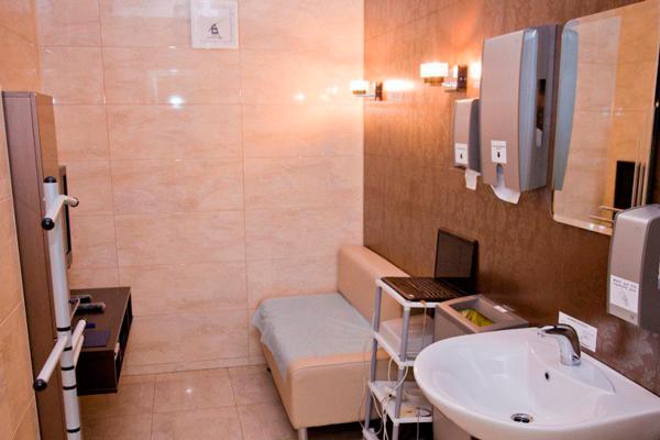 Комната для сдачи спермы необходимой для анализа Курцрока-Миллера