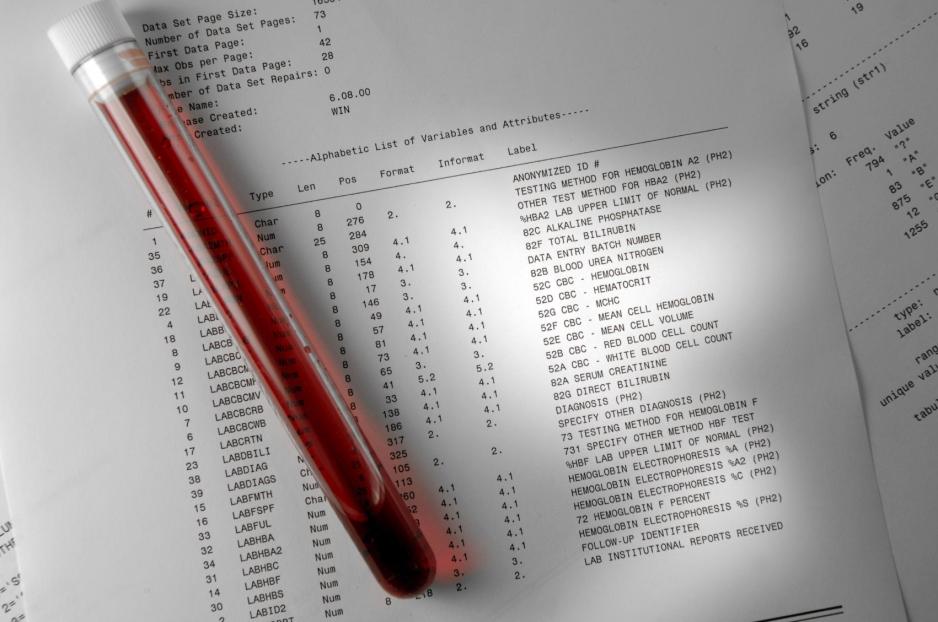 Результат анализа крови