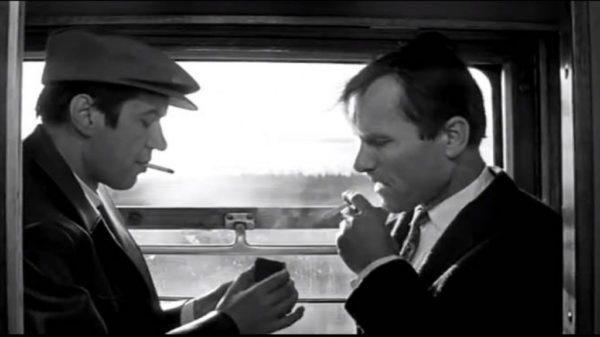 За курение внутри поезда налагается штраф