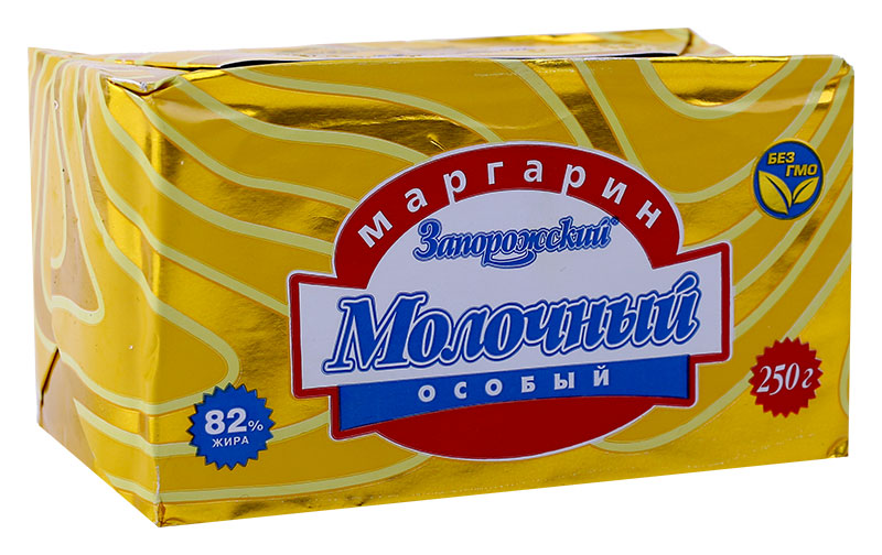 Маргарин Запорожский «Молочный особый»