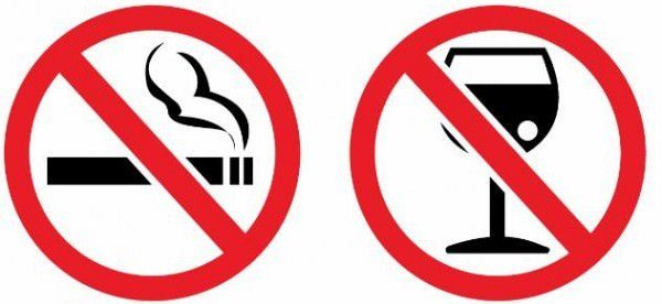 После удаления желчного пузыря от табака и алкоголя нужно отказаться