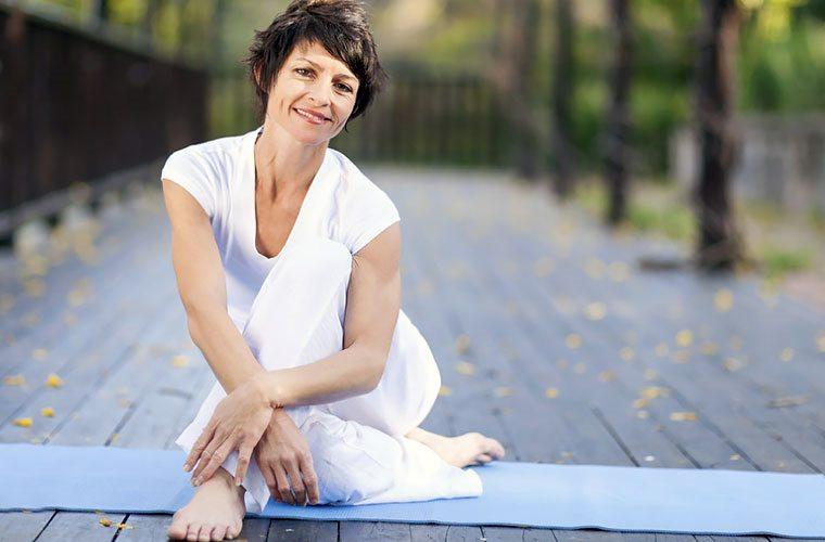 Йога, гимнастика и физические упражнения при климаксе