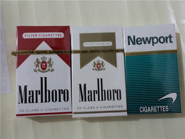 &quot,Marlboro&quot, и &quot,Newport&quot, - очень крепкие сигареты