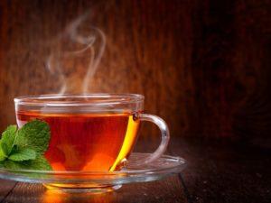 изжога от чая