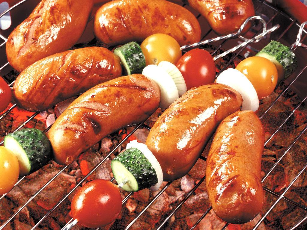 Жареные колбасы
