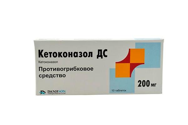 Кетоконазол для повышения уровня ФСГ