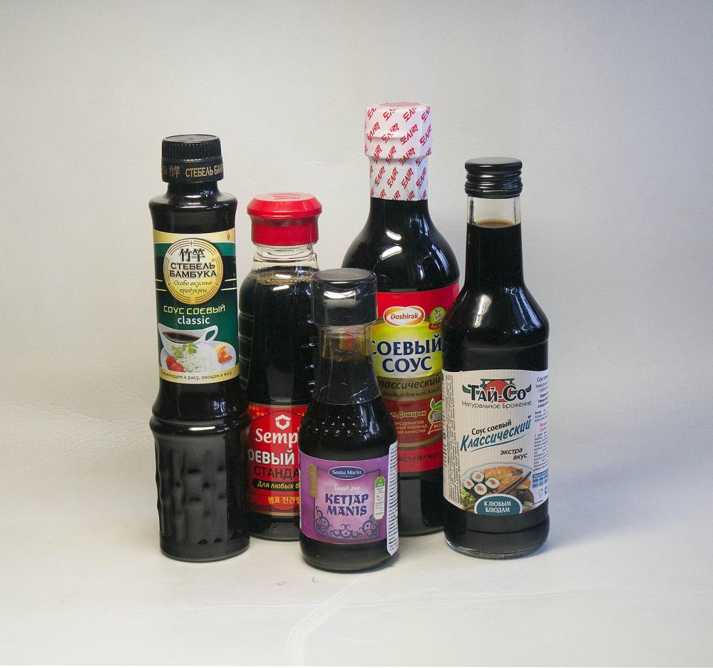 Тест: соевый соус | Спрос - электронный журнал для потребителей