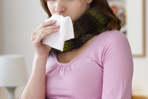 заложило нос при беременности на поздних сроках