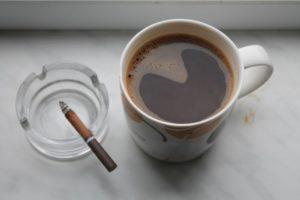 Кофе и сигарета