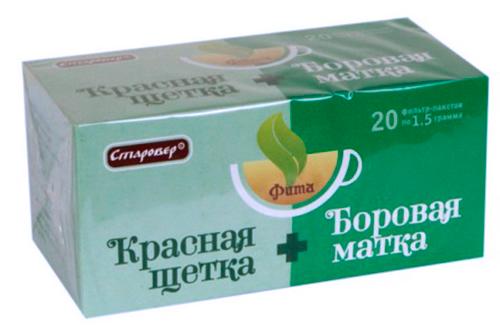 Фит-чай для дополнительного применения при лечении