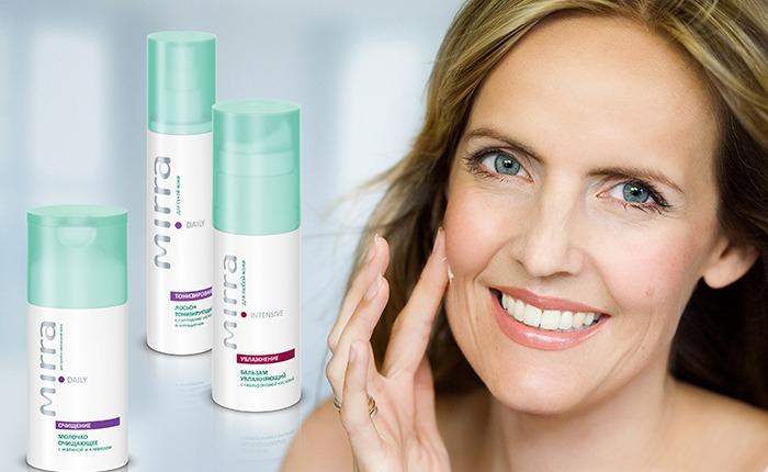 Уход за кожей в климактерическом периоде   косметика MIRRA