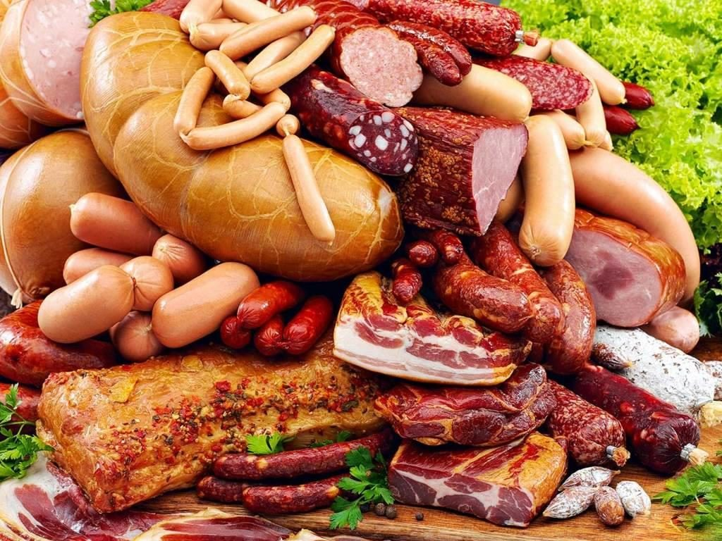 Мясо, колбасы