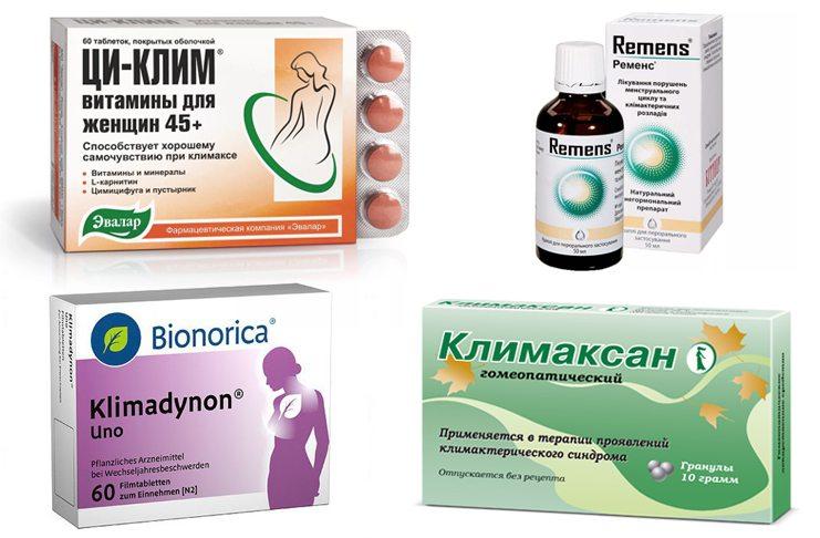Негормональные препараты при климаксе от приливов: лечение без гормонов