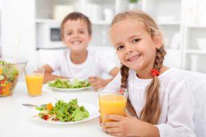 Детское здоровое питание