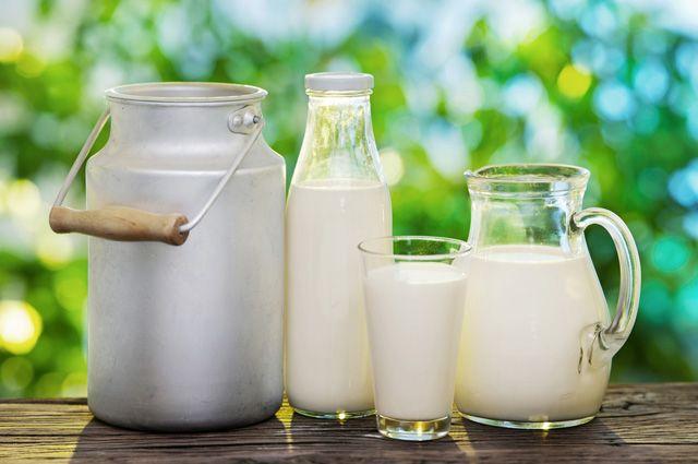 Молочных продуктах
