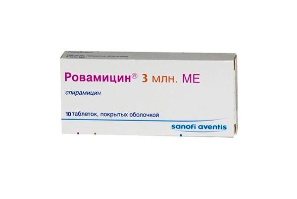 Ровамицин для лечение хламидиоза в период беременности