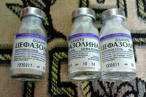Цефазолин для лечения цервицита