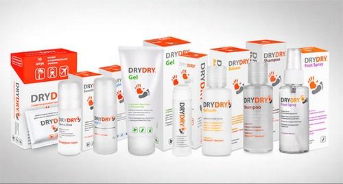 Виды средств Dry Dry