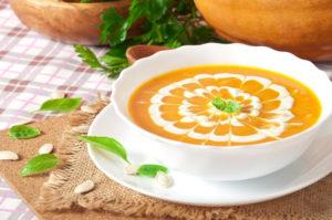 Овсяный суп пюре