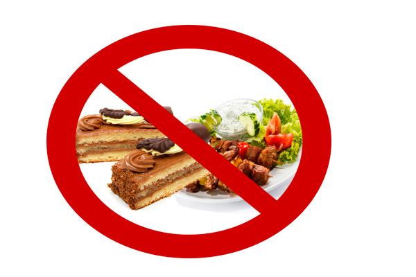Запрет на острую, мучную и сладкую еду перед процедурой фолликулометрии