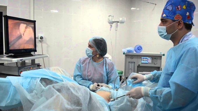 диагностическая лапароскопия матки